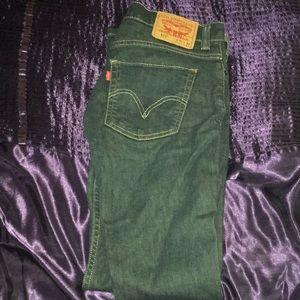 511 Men's Levi Jeans 31x32